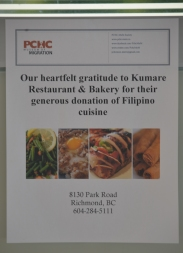 Many thanks to Kumare Restaurant & Bakery for food sponsorship