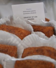 Indonesian risoles donated by Liza Wajong