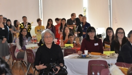 Deputy Mayor Andrea Reimer present for a Banquet of Stories