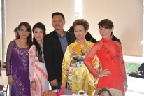 Hue Truong and Vietnamese table