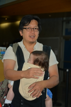 PCHC Treasurer Henry Yu and daughter