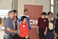 Elder Larry Grant, Sarah Ling, Winnie Cheung, Harbhajan Gill, Andrea Reimer, Henry Yu