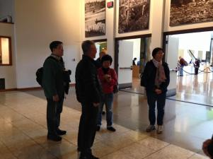 Chiho Yeung, Benny Ip, Winnie Cheung, and Loretta Ip at the RBC Museum