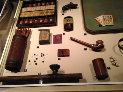 Entertainment artefacts -- used in gold rush era