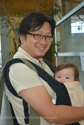 PCHC-MoM Director and Treasurer Henry Yu with daughter