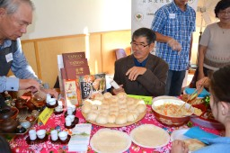 Guests and Storytellers at the Taiwanese table hosted by the Taiwanese Canadian Cultural Society
