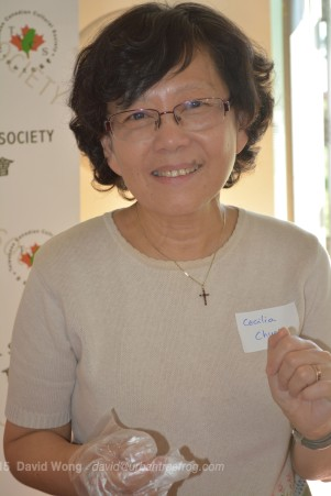 Cecilia Chueh of the Taiwanese Canadian Cultural Society