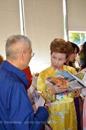 Jim Wong-Chu with Vietnamese storytellers