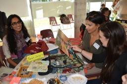 Women Transforming Cities stops by the Indo-African table