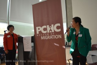 Green Party Candidate Elain Ng with PCHC-MoM President Winnie Cheung