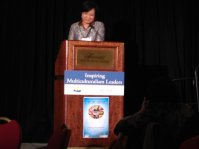 Winnie Cheung, President of the PCHC-MoM Society