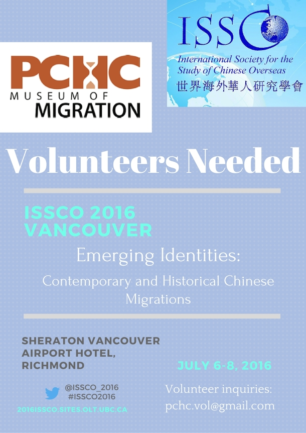 ISSCO 2016 volunteer