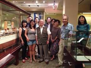 Photos from the Chung Collection Tour