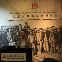Honorary PCHC Advisor and retired senator the Hon. Dr. Vivienne Poy