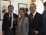 CCMS President King Wan with PCHC Honorary Advisor Dr. Vivienne Poy and her husband Dr. Neville Poy