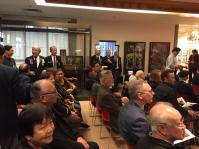 Many Chinese-Canadian WWII veterans present at launch of new exhibition