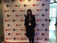 """Sarah Ling prepares for the world premiere of her film """"All Our Father's Relations"""""""