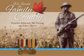 CCMMS | Forgotten Indigenous War Veterans and Today's Heroes