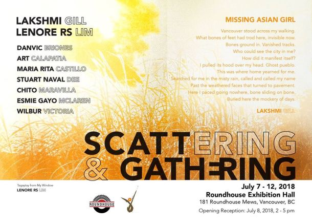 Scattering and Gathering poster