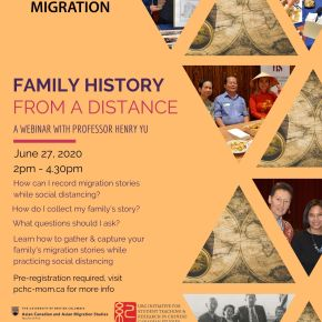 Family History From a Distance: Webinar with Prof. Henry Yu
